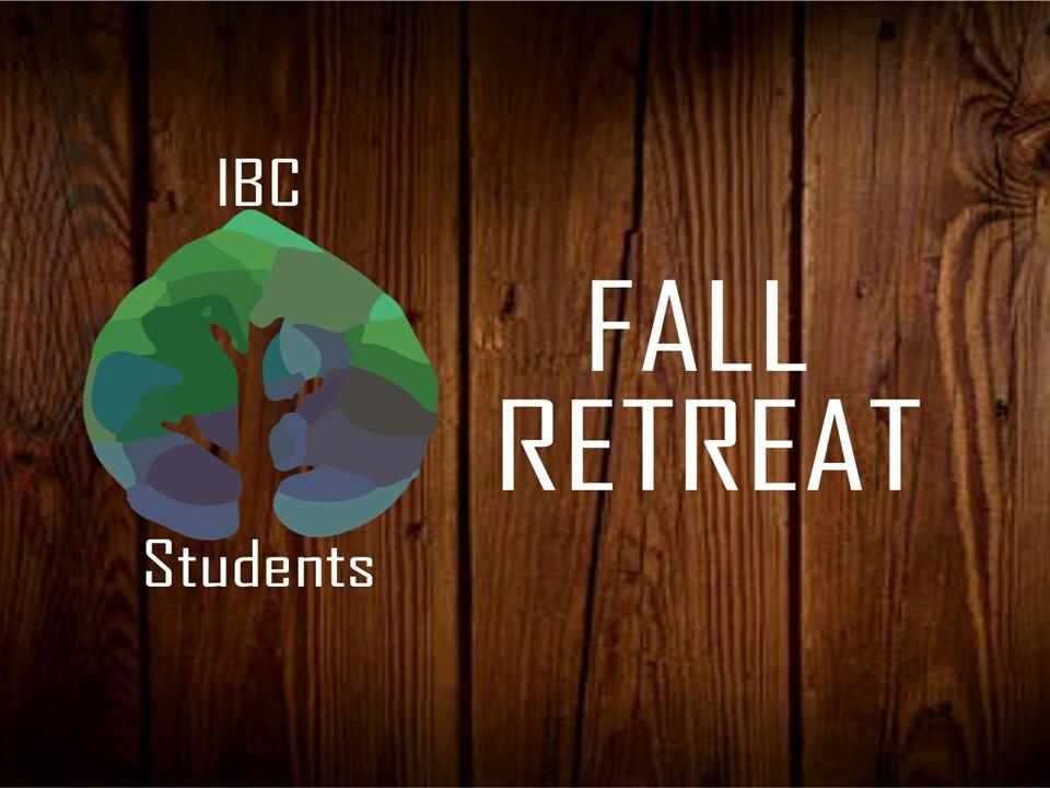 Youth Fall Retreat!